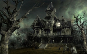 Why do all haunted houses look like this?